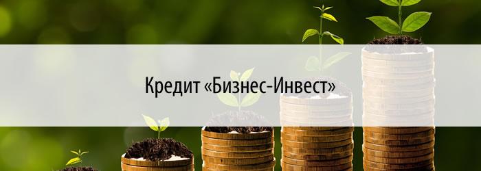 Кредит «Бизнес-Инвест»