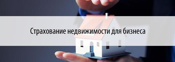 Страхование недвижимости для бизнеса