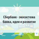 Сбербанк - экосистема банка, идеи и развитие
